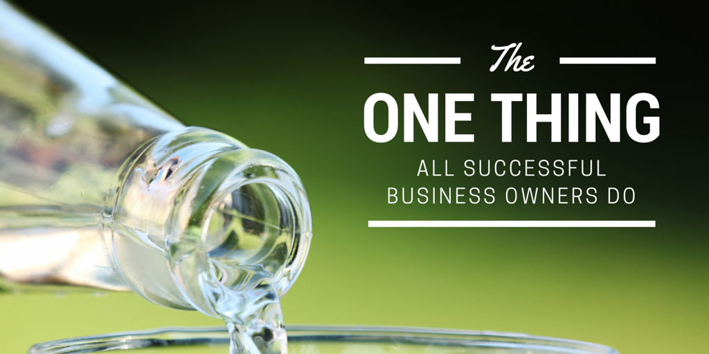 All successful business owners